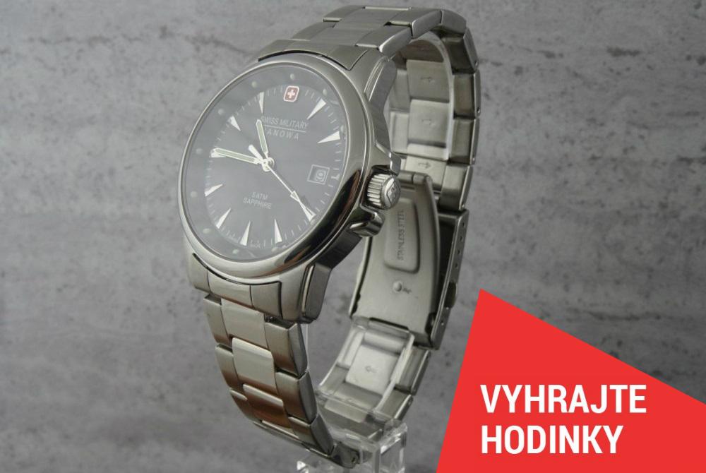 Švýcarské hodinky Hanowa za fotku! - www.helveti.cz