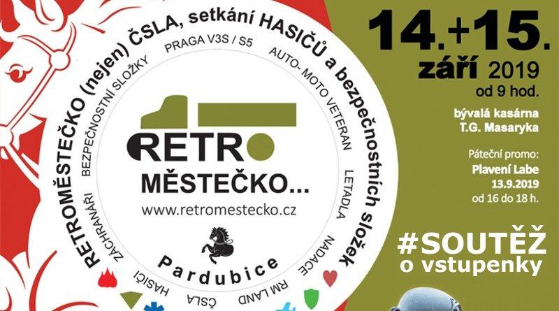 SOUTĚŽ o vstupenky na RetroMěstečko 2019 - www.chrudimka.cz