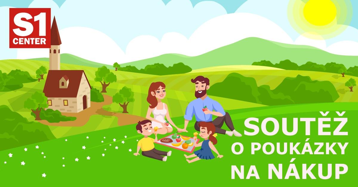 Soutěžte s S1 Center Žďár o 10 poukázek na nákup! - www.saller.cz
