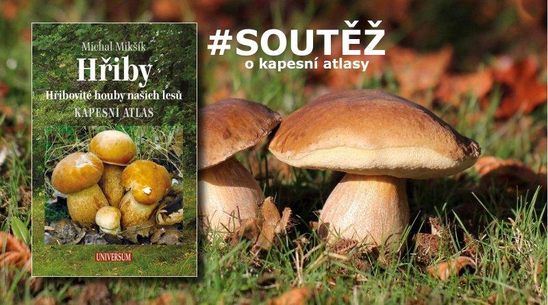 SOUTĚŽ o tři kapesní atlasy HŘIBY - www.chrudimka.cz