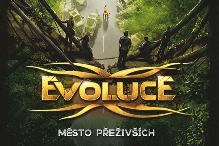 Vyhrajte tři audioknihy Evoluce  Město přeživších - www.klubknihomolu.cz