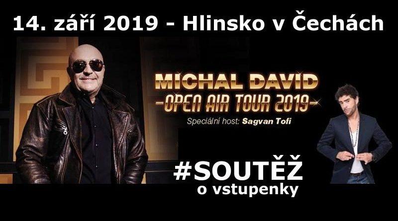 SOUTĚŽ o vstupenky na LÉTO S RYCHTÁŘEM  Michal DAVID - www.chrudimka.cz