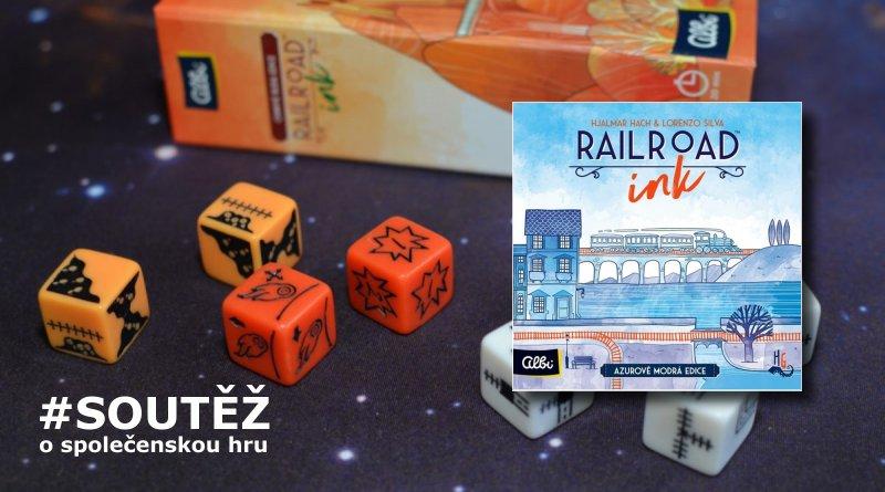 SOUTĚŽ o rodinnou hru RAILROAD INK - www.chrudimka.cz