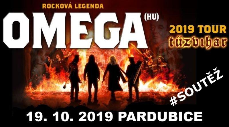 SOUTĚŽ o vstupenky do Pardubic na kapelu OMEGA - www.chrudimka.cz