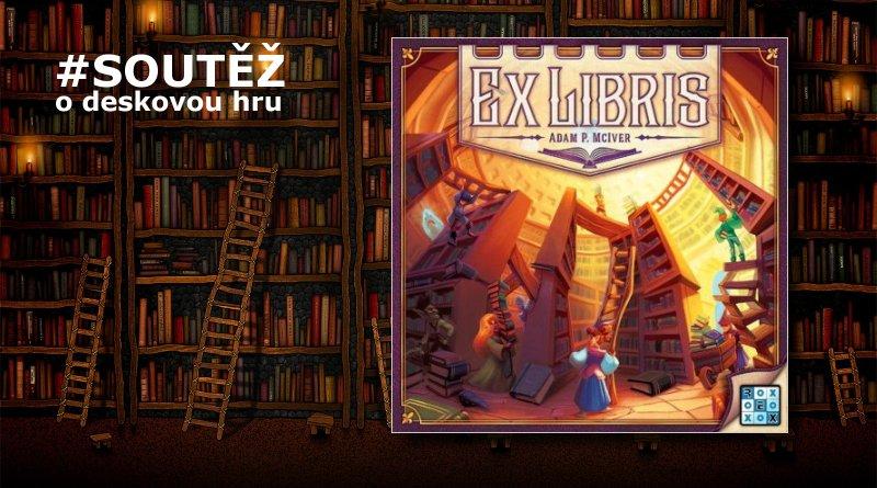 SOUTĚŽ o deskovou hru EX LIBRIS - www.chrudimka.cz