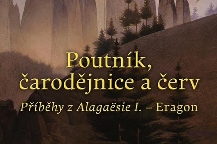 Vyhrajte tři knihy Poutník čarodějnice a červ - www.klubknihomolu.cz
