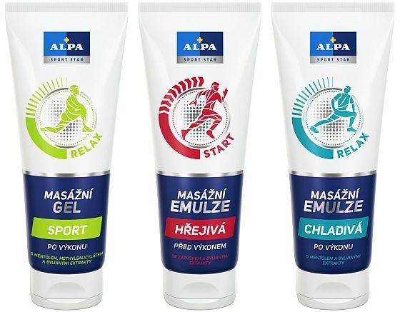 Soutěž o FIT podložku a balíčky přípravků ALPA Sport Star - www.chytrazena.cz