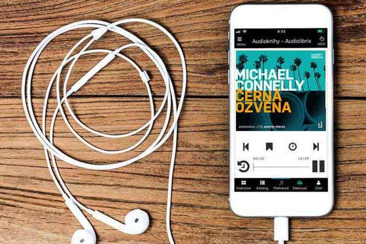 Vyhrajte tři audioknihy Černá ozvěna - www.klubknihomolu.cz
