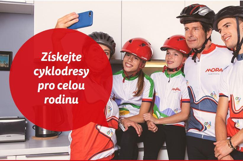 Soutěžte s Hankou a Katkou o cyklodresy - www.mora.cz