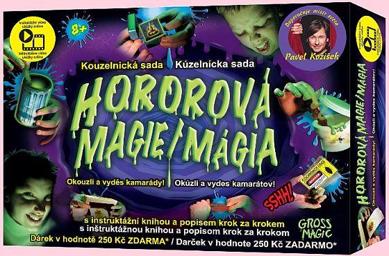 Soutěž o Kouzelnické sady Hororová magie od Pavla Kožíška - www.chytrazena.cz