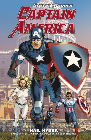 Soutěž o tři komiksy Captain America Steve Rogers: Hail Hydra - www.vasesouteze.cz