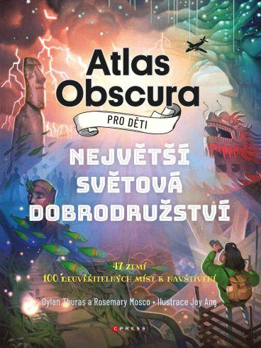 Soutěž o knihu Atlas Obscura pro děti - www.vasesouteze.cz