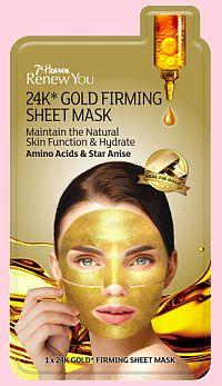 Velká 14denní soutěž o pleťové masky i zlatou masku 7th Heaven Renew You - www.chytrazena.cz
