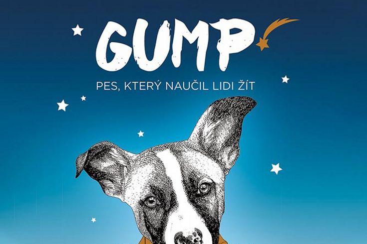 Vyhrajte dvě knihy Gump: Pes který naučil lidi žít - www.klubknihomolu.cz