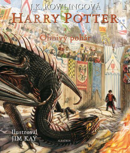 Soutěž o ilustrované vydání knihy Harry Potter a Ohnivý pohár - www.vasesouteze.cz