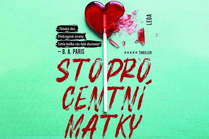 Vyhrajte tři knihy Stoprocentní matky - www.klubknihomolu.cz