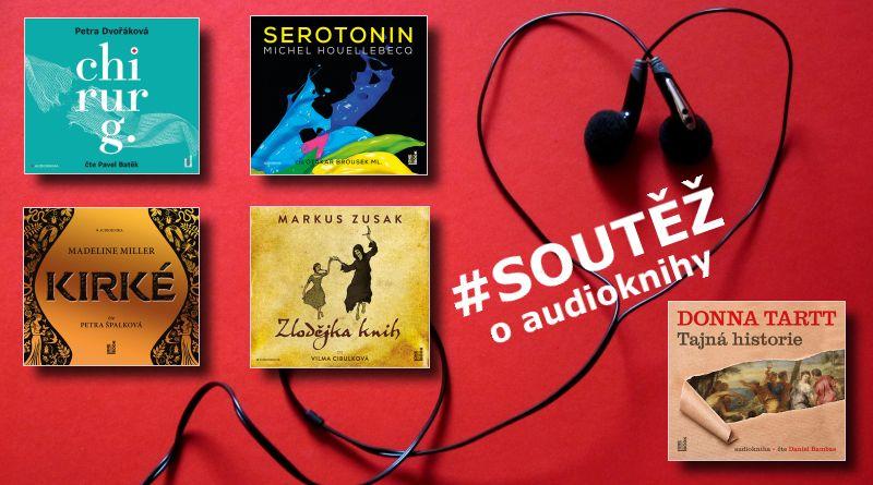 SOUTĚŽ o pět audioknih z vydavatelství OneHotBook - www.chrudimka.cz