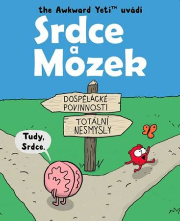 Soutěž o komiksovou knížku Srdce a Mozek - www.vasesouteze.cz