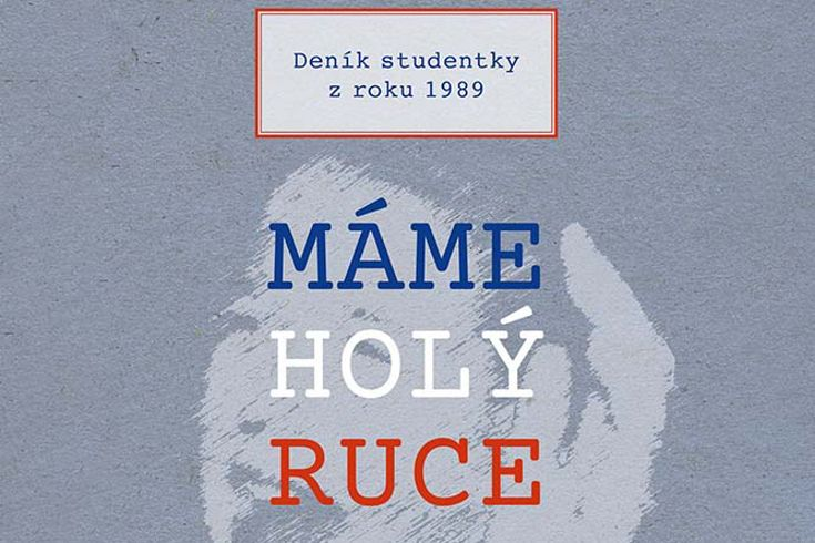 Vyhrajte tři knihy Máme holý ruce - www.klubknihomolu.cz