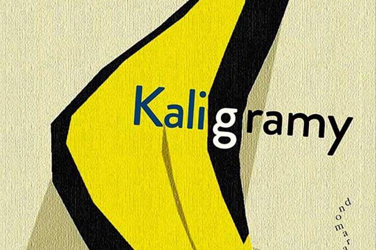 Vyhrajte pět knih Kaligramy - www.klubknihomolu.cz