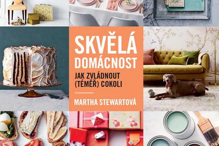 Vyhrajte tři knihy Skvělá domácnost - www.klubknihomolu.cz