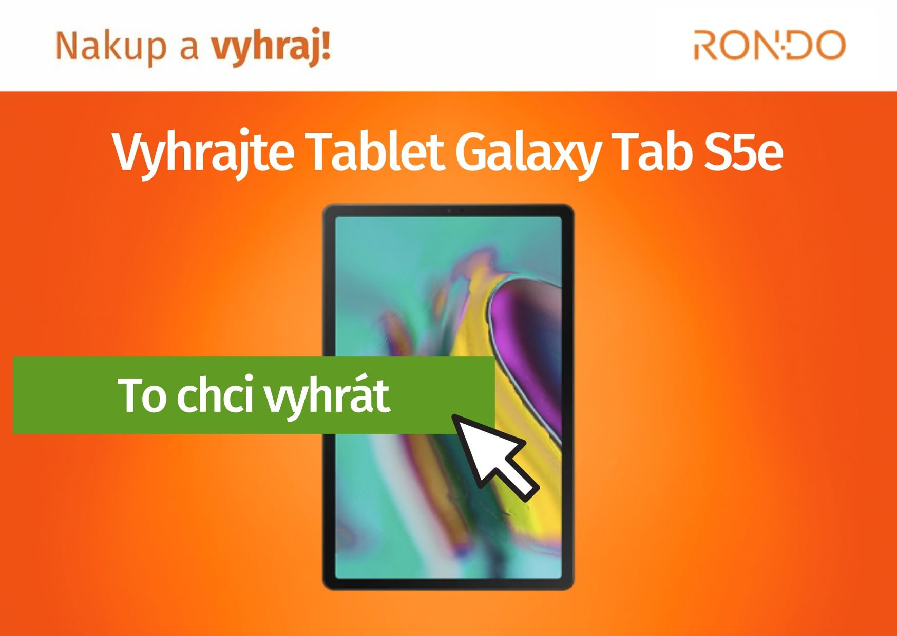 Soutěž o Samsung Galaxy Tablet S5e - www.rondo.cz
