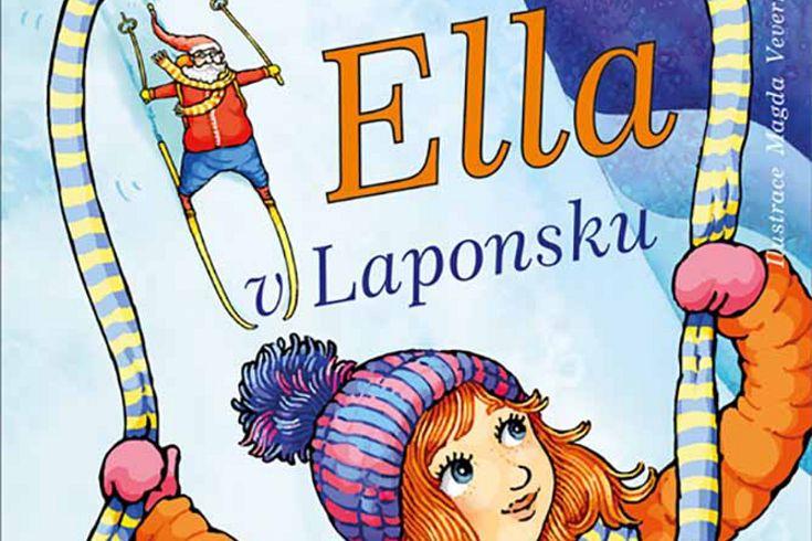 Vyhrajte tři knihy Ella v Laponsku - www.klubknihomolu.cz