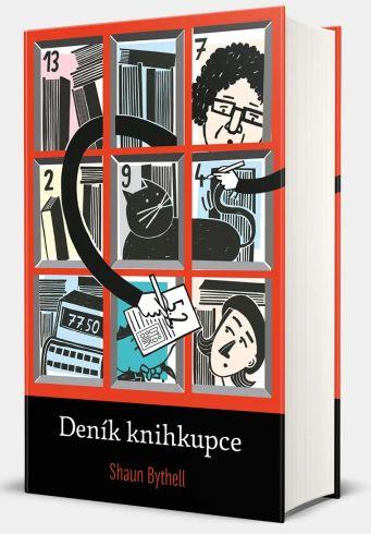 Soutěž o tři knihy Deník knihkupce - www.vasesouteze.cz