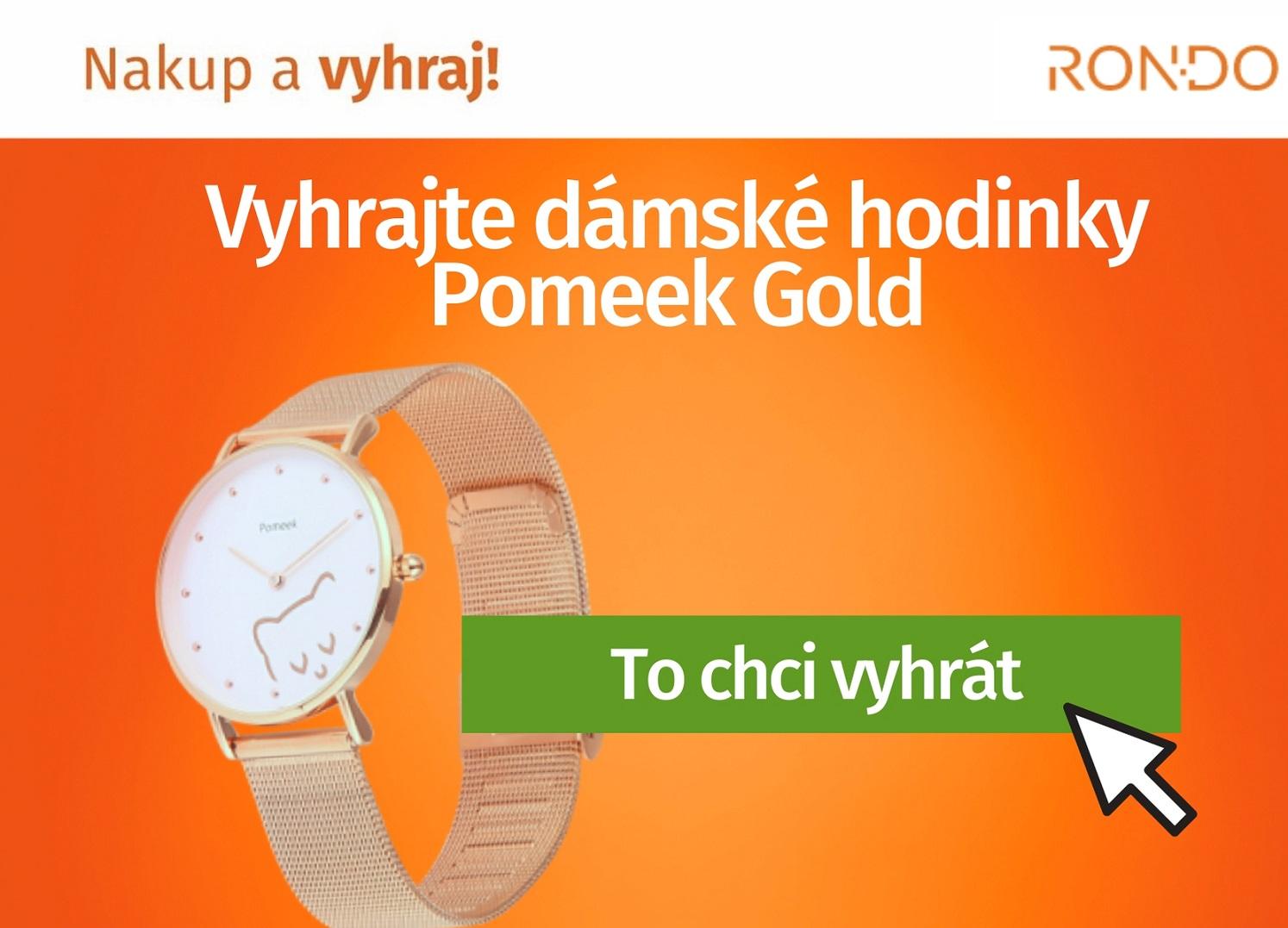Soutěž o hodinky Pomeek Candy by Aston Diamond - www.rondo.cz