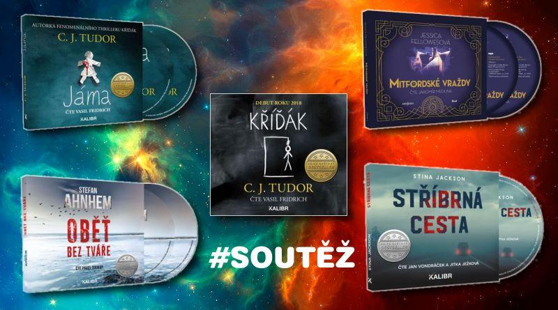 SOUTĚŽ o pět audioknih na CD - www.chrudimka.cz
