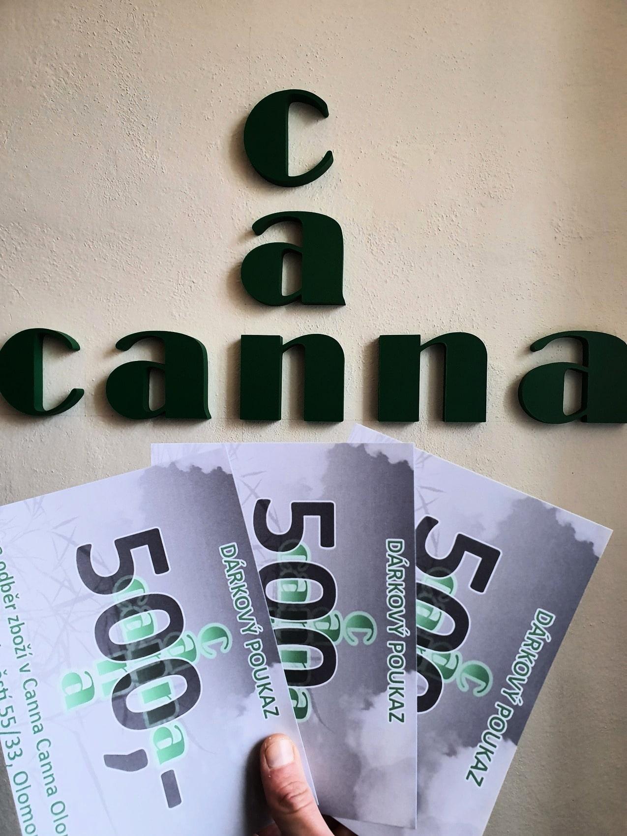 3x voucher na 500 Kč do Canna Canna v Olomouci! - nejpripojeni.cz