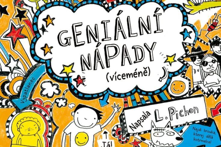 Vyhrajte dvě knihy Tom Gates: Geniální nápady víceméně - www.klubknihomolu.cz