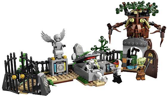 Soutěž o stavebnice Záhada na hřbitově z řady LEGO Hidden Side - www.chytrazena.cz