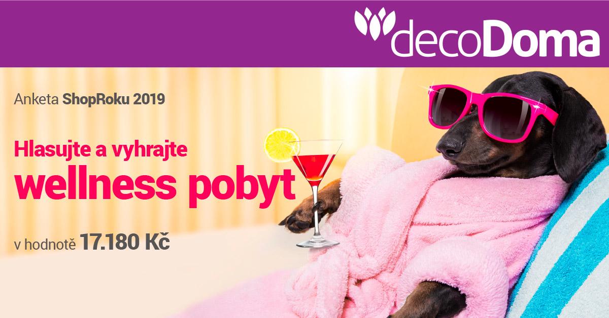 Vyhrajte třídenní relaxační pobyt pro dva včetně polopenze a relaxačních procedur - www.decodoma.cz