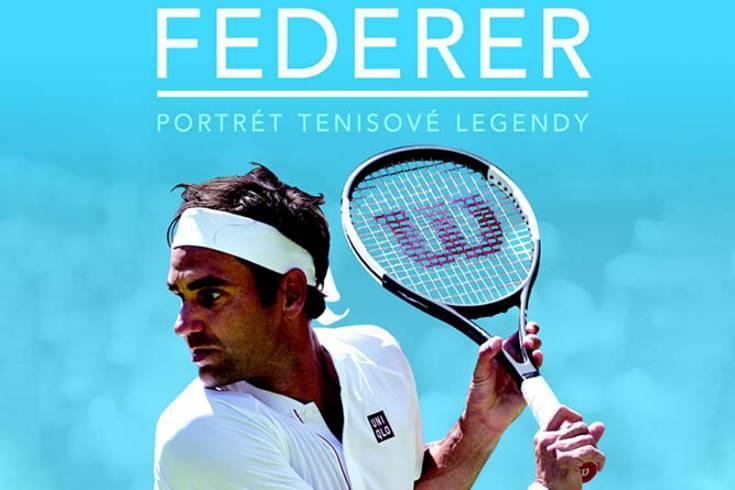Vyhrajte dvě knihy Federer: Portrét tenisové legendy - www.klubknihomolu.cz