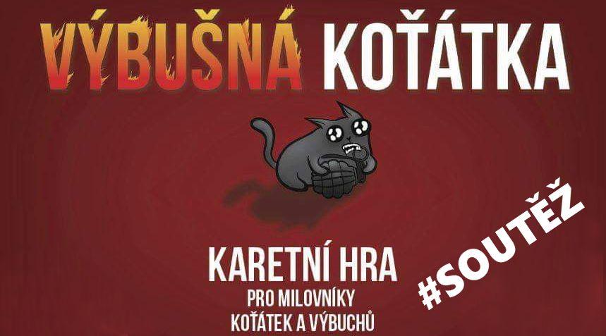 SOUTĚŽ o karetní hru VÝBUŠNÁ KOŤÁTKA - www.chrudimka.cz