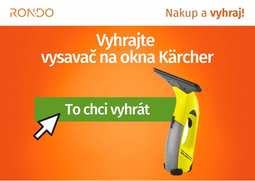 Soutěž o vysavač na okna Kärcher WV Classic - www.rondo.cz
