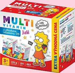Soutěž o balíčky vitamínů a výživových doplňků The Simpsons pro děti - www.chytrazena.cz