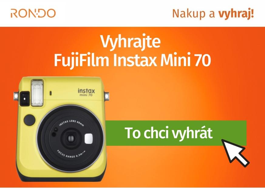 Soutěž o FujiFilm Instax Mini 70 - www.rondo.cz
