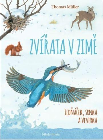 Soutěž o knihu Zvířata v zimě - www.vasesouteze.cz