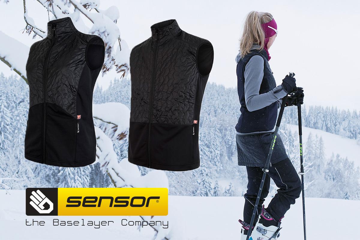Soutěž o vesty Sensor Infinity Zero - www.snow.cz