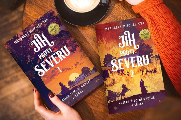 Vyhrajte dvě knihy Jih proti Severu oba díly - www.klubknihomolu.cz