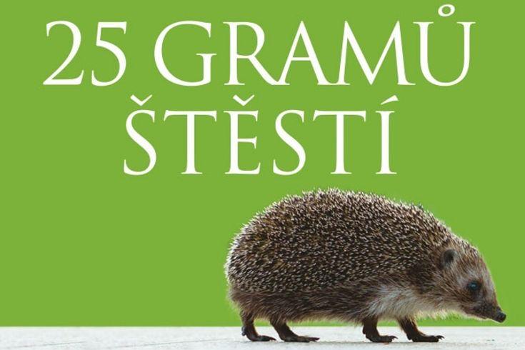 Vyhrajte dvě knihy 25 gramů štěstí - www.klubknihomolu.cz