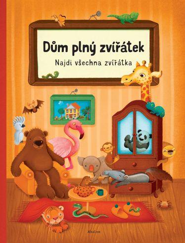 Soutěž o knihu Dům plný zvířátek - www.vasesouteze.cz