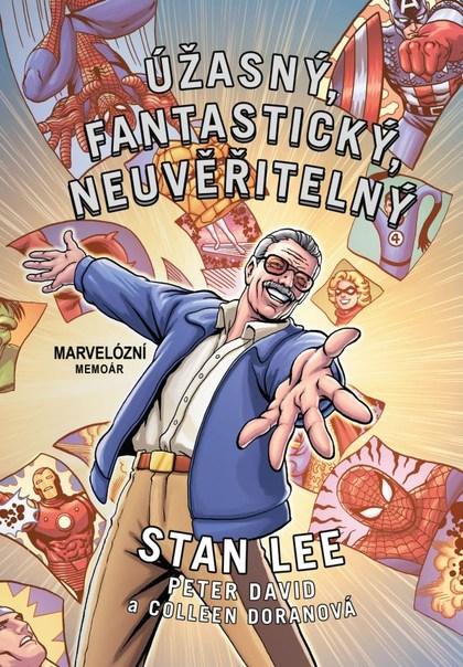 Soutěž o komiks Úžasný fantastický neuvěřitelný Stan Lee - www.vasesouteze.cz