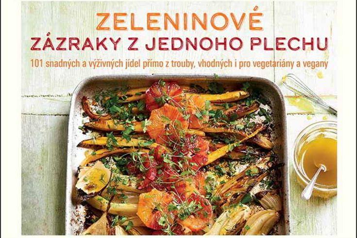 Vyhrajte dvě knihy Zeleninové zázraky z jednoho plechu - www.klubknihomolu.cz