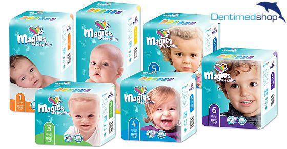 Vyhrajte nejtenčí dětské plenky na trhu MAGICS - www.chytrazena.cz