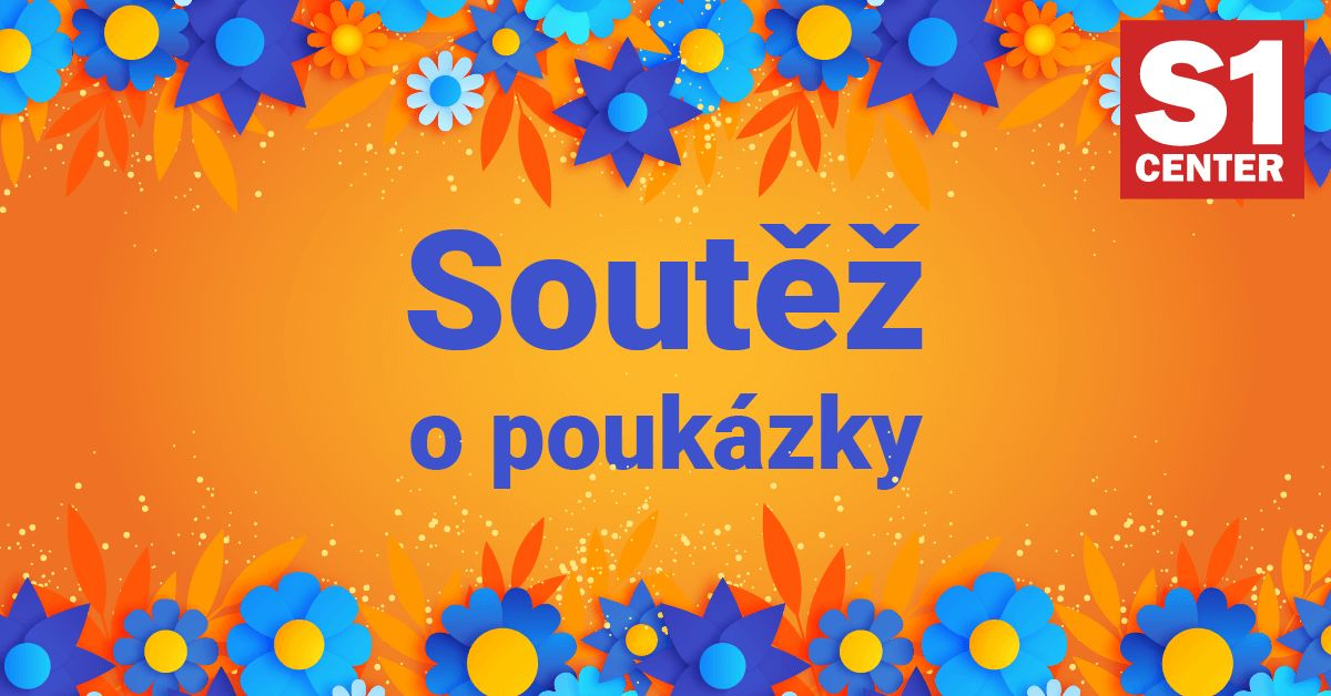 Soutěžte s S1 Center Most o 10 poukázek na nákup! - www.saller.cz