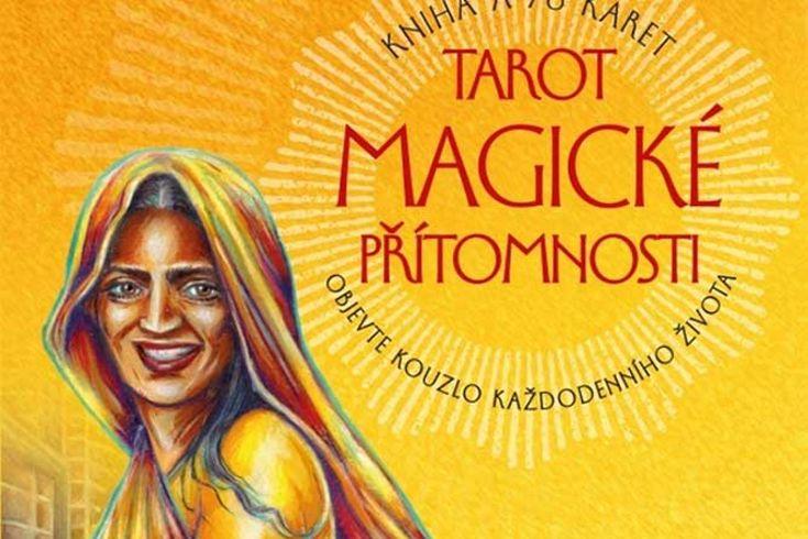 Vyhrajte dvě sady tarotových karet a knihu Tarot magické přítomnosti - www.klubknihomolu.cz