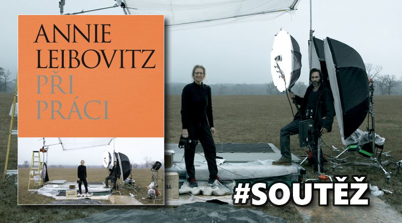 SOUTĚŽ o fotoknihu Annie Leibovitz  PŘI PRÁCI - www.chrudimka.cz